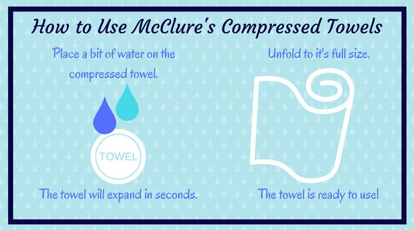 Magical Compressed Towel