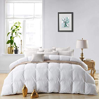 How to Put a Duvet Cover on a Down Comforter