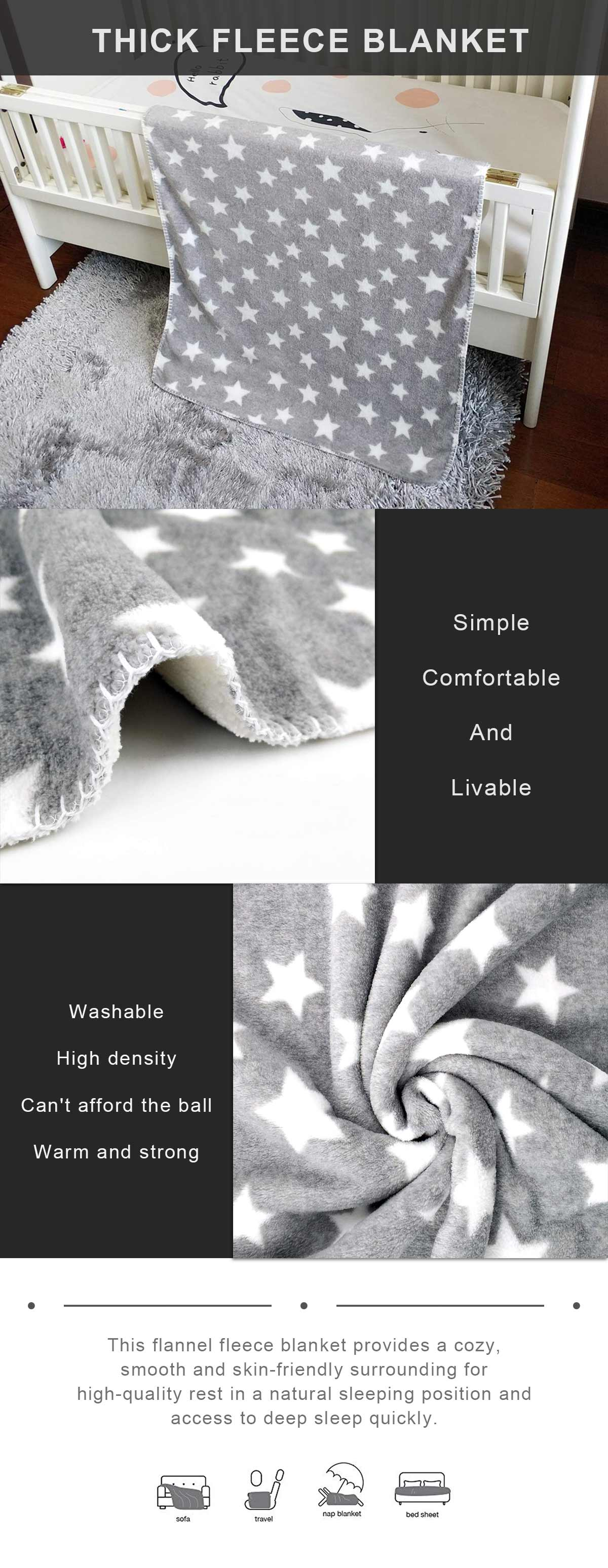 Thick Fleece Blanket