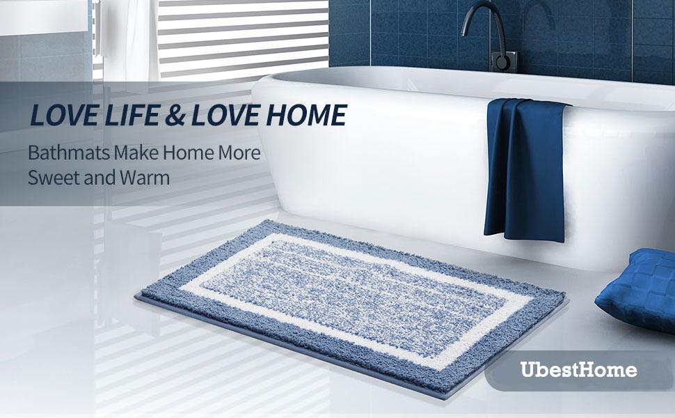 Bath Mats Make Home More Sweet and Warm
