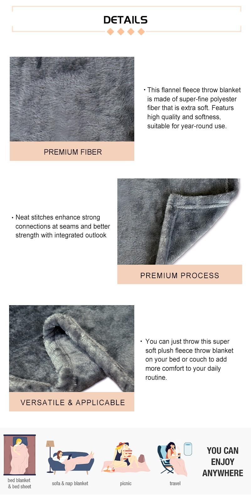 Microfiber Throw Blanket