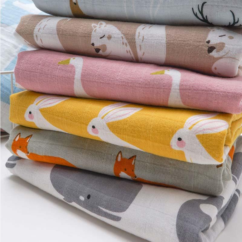 Baby Muslin Swaddle Blanket