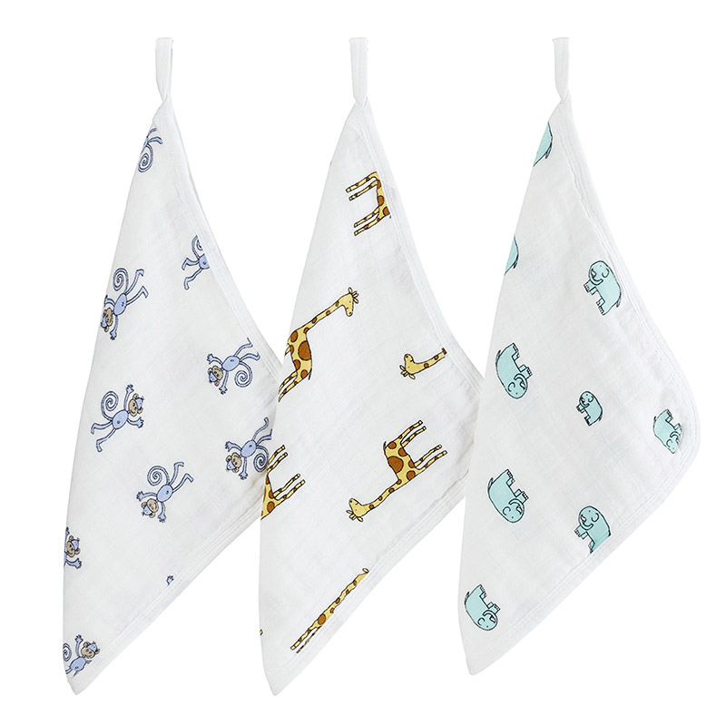 Muslin Washcloth Set