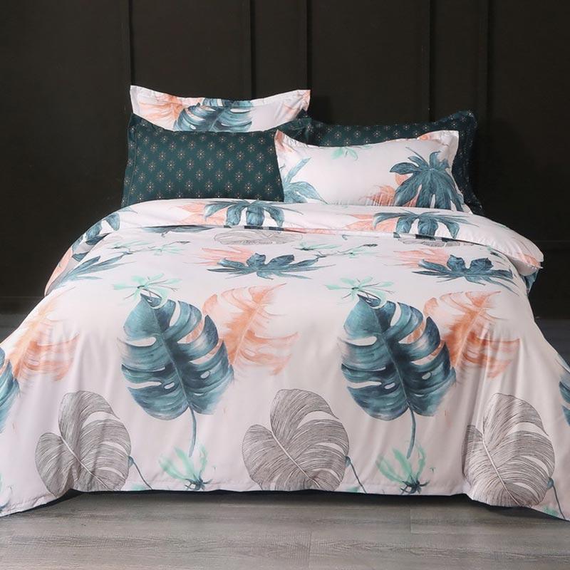 Plant Pattern Comforter Set