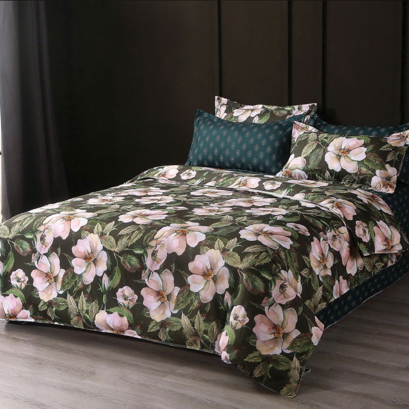 Cotton Reversible Bedding Cover Set