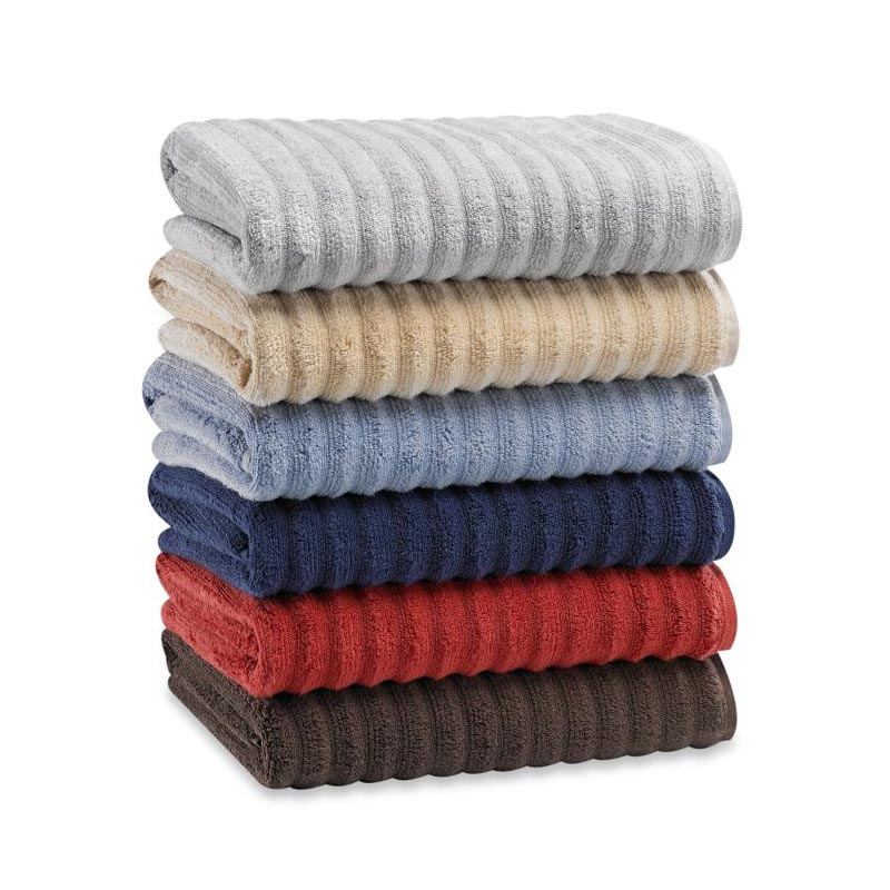 Turkish Ribbed Bath Towels