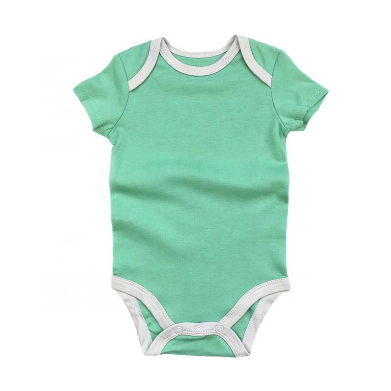 Short Sleeve Baby Rompers