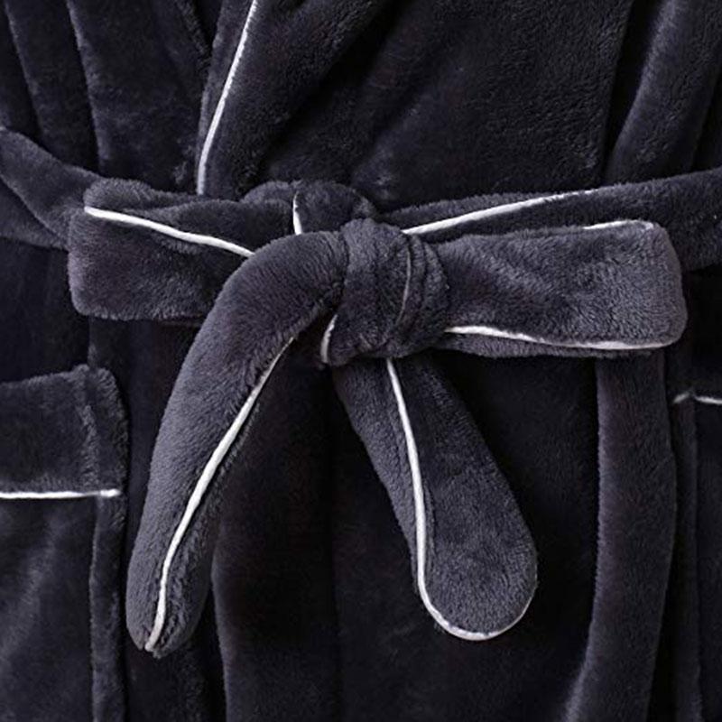Long Flannel Robe