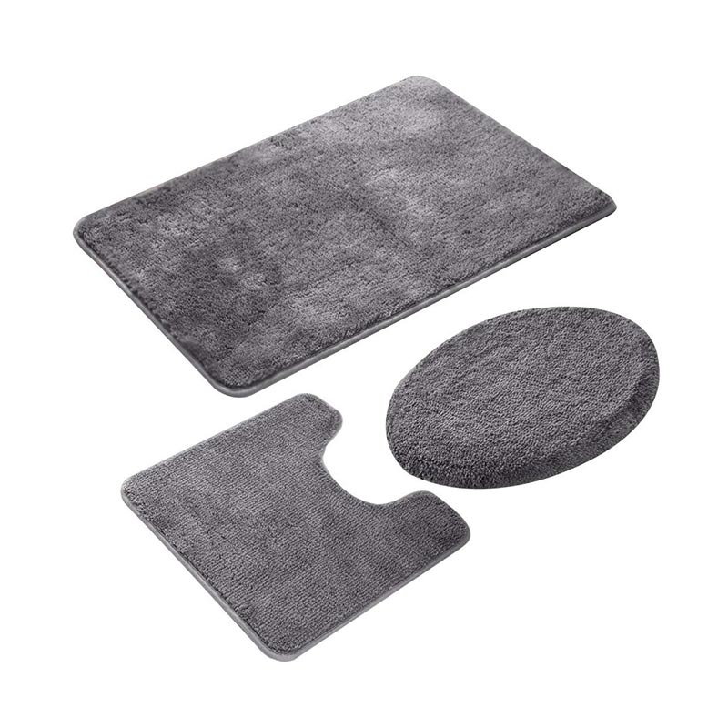 Toilet Area Rugs Set 3 Piece
