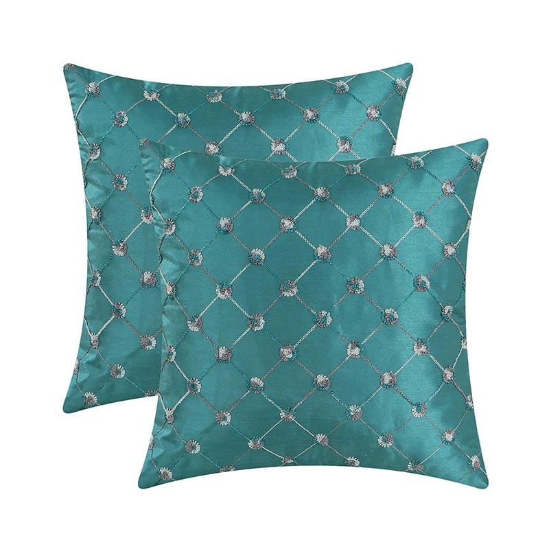 Silk Fabric Cushion Covers