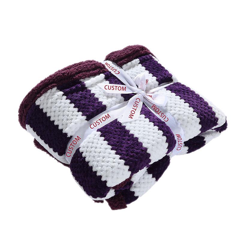 Reversible Flannel Fleece Blanket