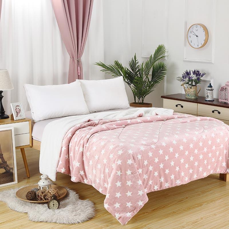 Flannel Comforter Set
