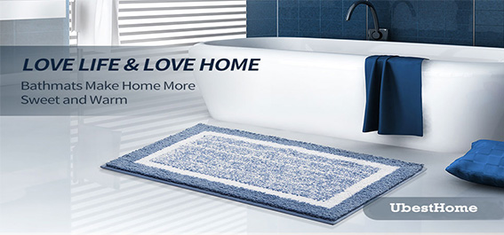Bath Mats Make Home More Sweet and Warm