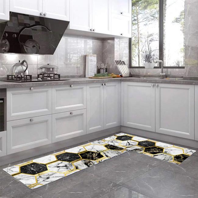 PVC Kitchen Printed Floor Mats