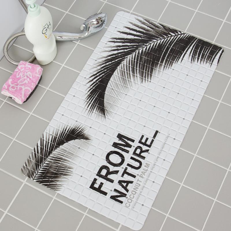 Printed PVC Shower Floor Mat