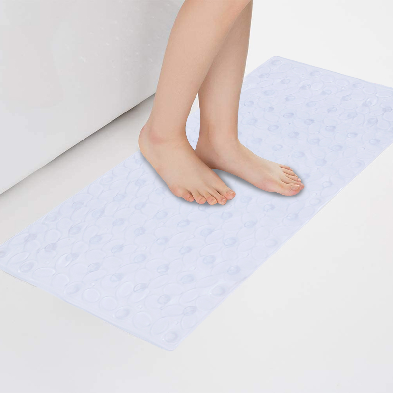 Transparent Non-slip PVC Bath Mats