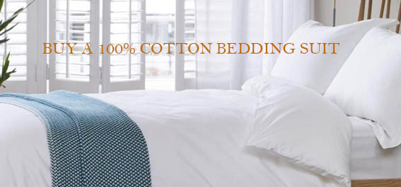 How To Buy A 100% Cotton Bedding Suit?