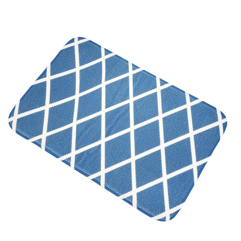 Flannel Bathroom Mat
