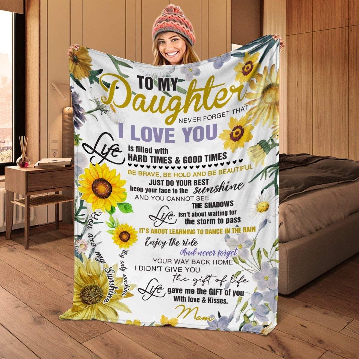 Envelope Letter Cashmere Blanket